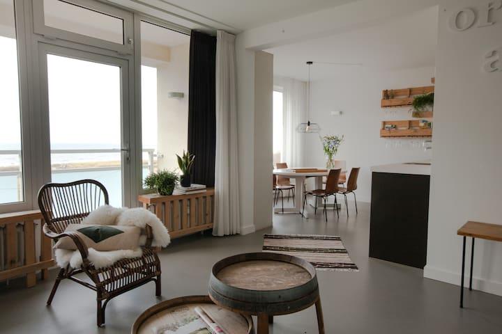 Top apartement (8p) with Sea View - Egmond aan Zee - Apartemen