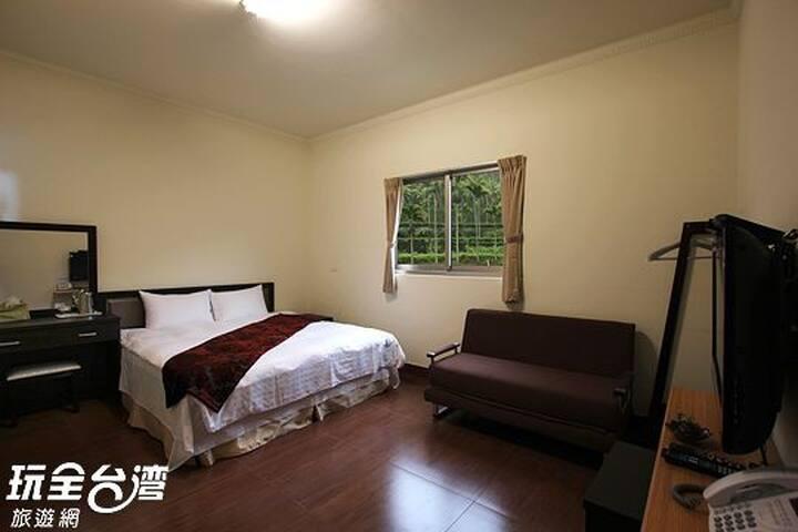 詹德仁茶園民宿 三樓山景雙人房 Double Mountain-view Room