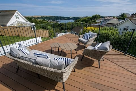 St Mawes Bungalow with a view
