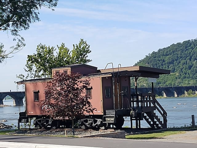 Rocky the Caboose at Fort Hunter Park