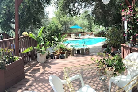 Canyon Home. 5 min from Rose Bowl - Altadena - Maison