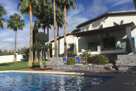 Stunning villa with large pool and great views - Alhaurín el Grande