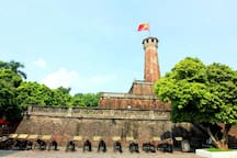Flag Tower of Hanoi-28A Dien Bien Phu street: 2 minutes from  Temple Of Literature- Quoc Tu Giam