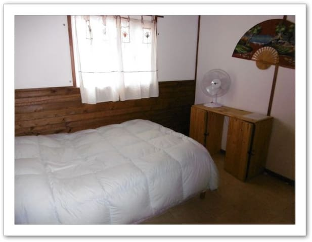 Habitacion matrimonial chica en hostel