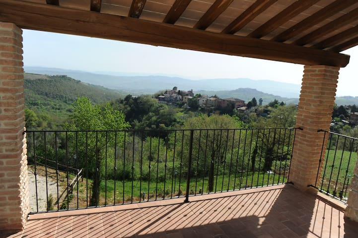 Charming apartment in Borgo - Ripalvella - Apartamento