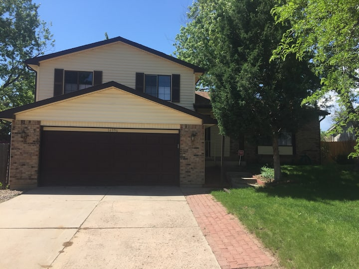 Quiet, suburban home close to downtown Denver
