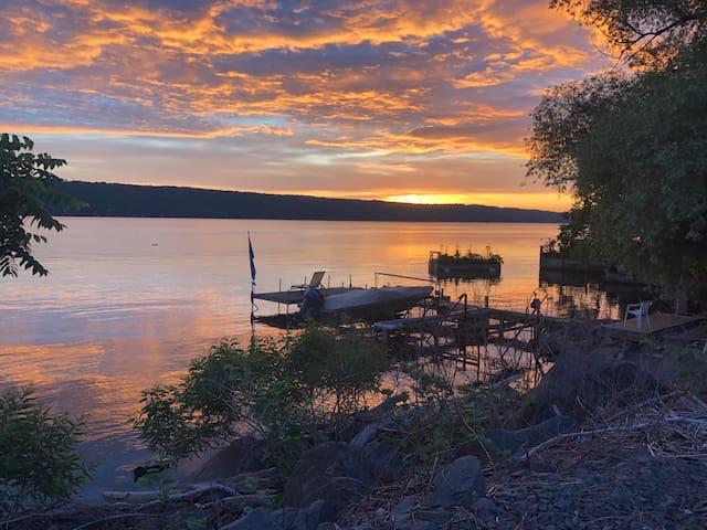 Cayuga Lake Retreat in Ithaca