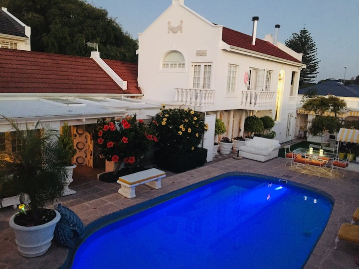 "Our Hermanus House B&B"" 3 ""at 56 Mitchell Street."