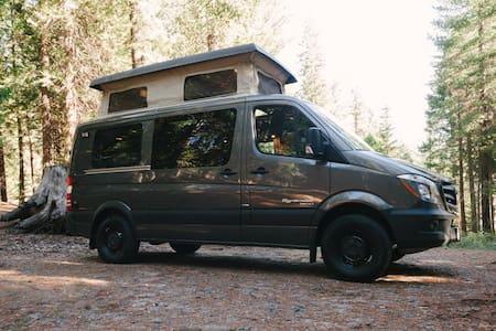 Luxury Camper Van in Jackson Hole Wyoming - Jackson