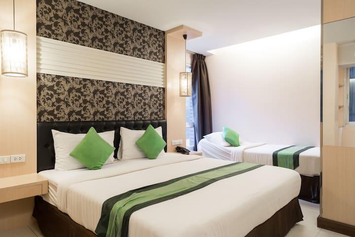 PratunamMKTshopingheavenThaiFoodDLX - Bangkok - Appartamento