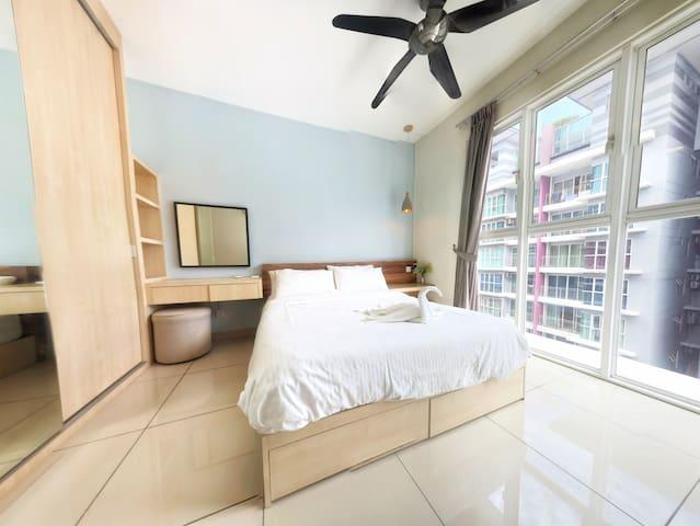 5Pax-3BR Apartment near Subang Airport & PJ #I01