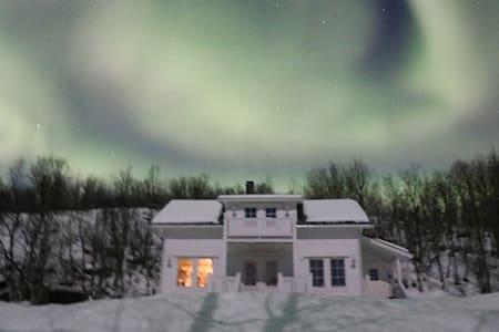 Charming country house for Aurora - Tromsø - 小木屋