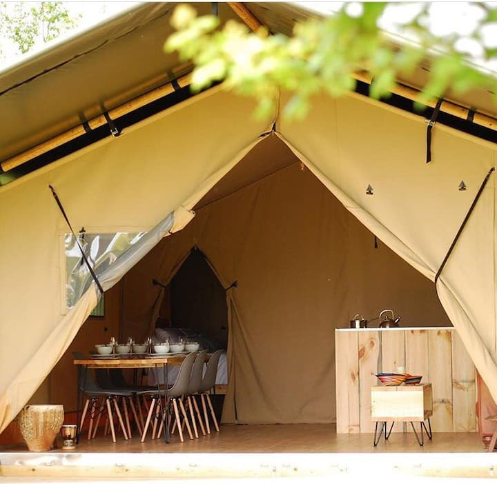 Kaya Lodge Safari Tent, Glamping at its best