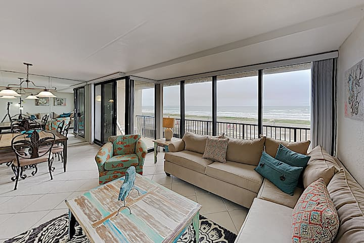 New Listing! All-Suite Gulf-View Condo w/ Pool