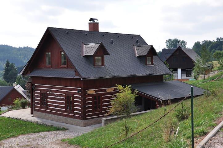 Roubenka v Podkrkonoší - Vidochov - กระท่อมบนภูเขา