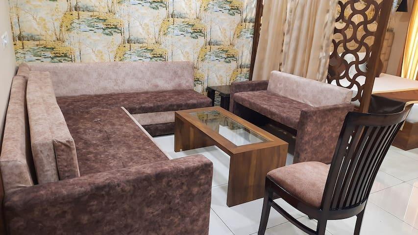 Private Sitting Area 8to10 Person's....