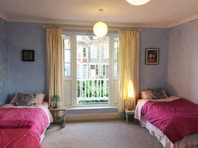 Bright & airy double room with kitchen & shower. - Bristol - Gastsuite