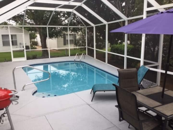 Beautiful 2/2 Patio Villa with Private Heated Pool