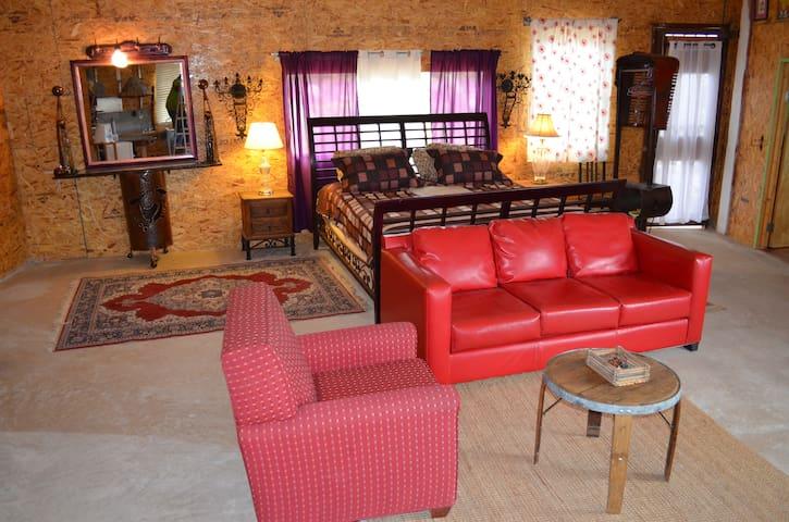 AZUL DE GUADALUPE ...Cabaña Artistica Rustica - Ensenada - Cabin