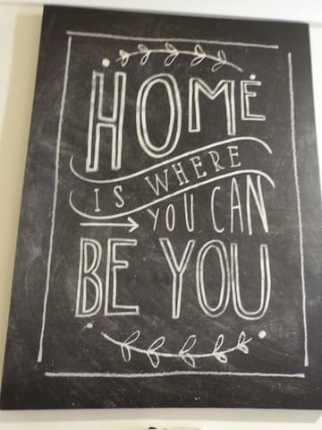 Home Is Where You Can Be You
