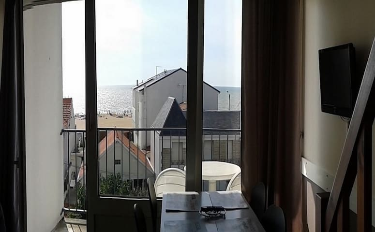 Appartement 30 m2 vue mer 50m de la plage. - Châtelaillon-Plage - Apartament