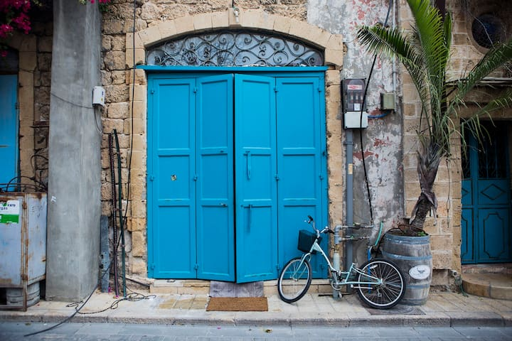 Duplex in Old Jaffa, 1 min from the sea - Tel Aviv-Yafo