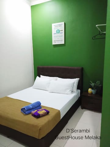 Second Room (Queen Bed) with Air-Conditioning