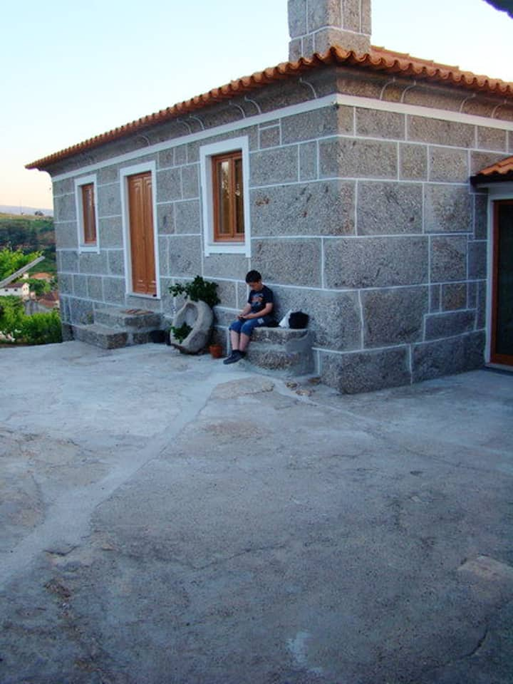 House with 3 bedrooms in Baião, with wonderful mountain view, furnished garden and WiFi