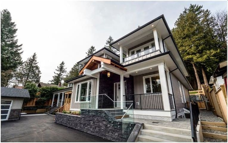Brand-New House Close to Ski Resorts & Ferry
