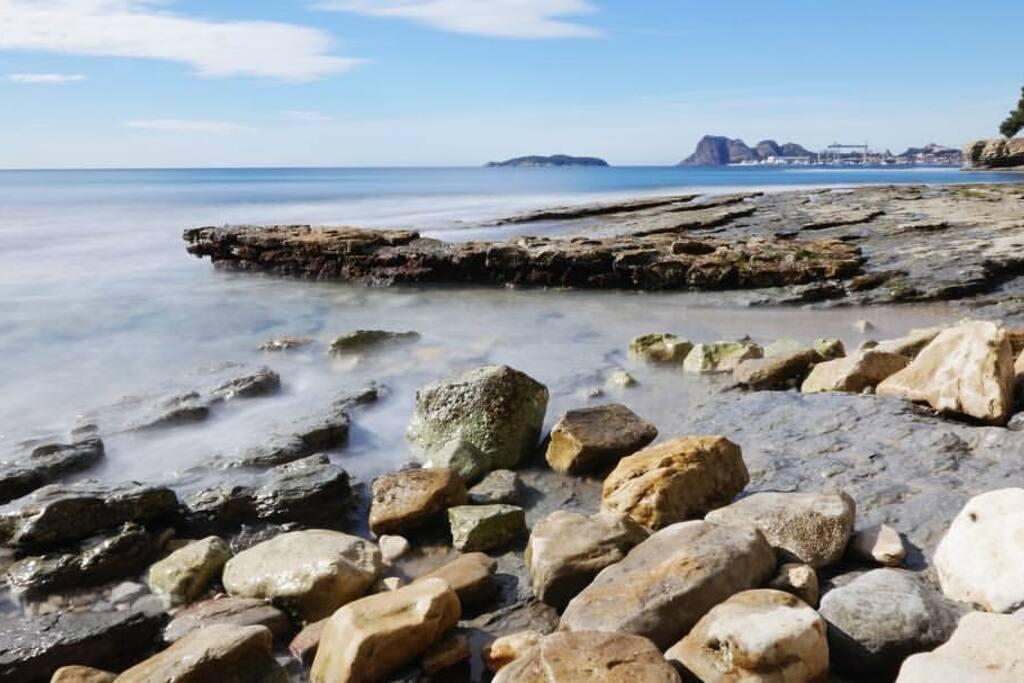 plage de Fontsainte à 15 minutes