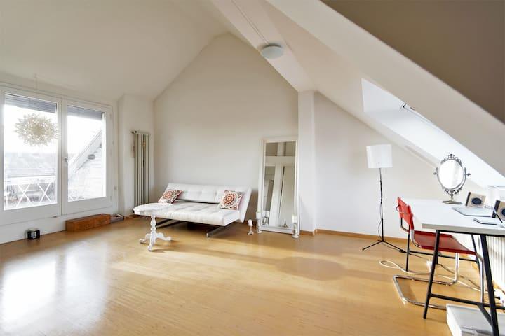 Beautiful Loft near Rhein - Basel - Apartment