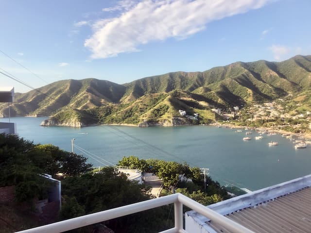 Your Luxury apartment with view to Caribbean sea