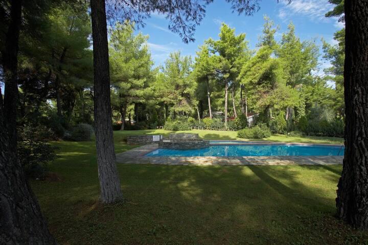 Sani Seaside Luxury - Villa Dimitra Private Retreat