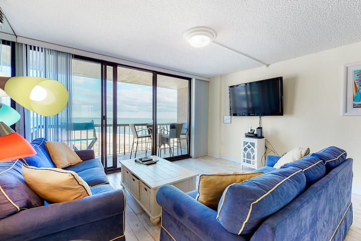 Sea Colony oceanfront 8th floor condo w/ pool and basketball court