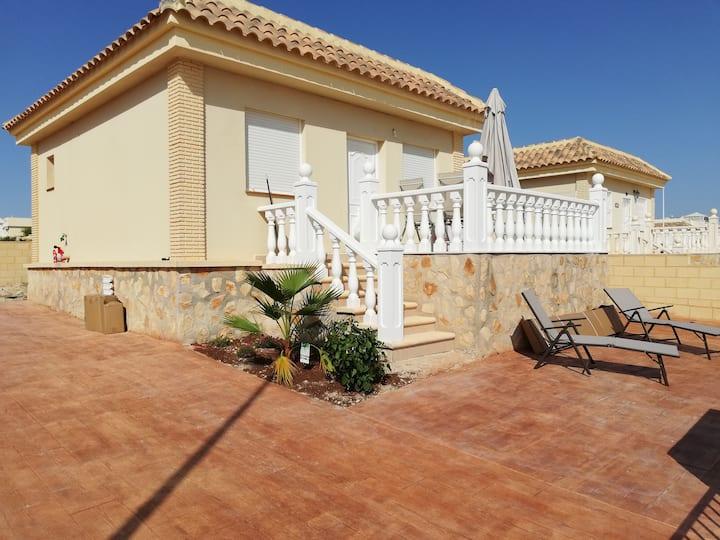 Haus in Mazarrón, Camposol, Strand, Golf