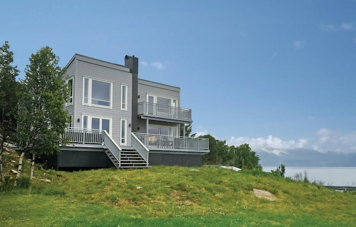 Modern holiday home in scenic surroundings.