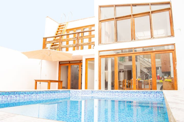 Beautiful Beach House-Punta Hermosa(P. Caballeros)