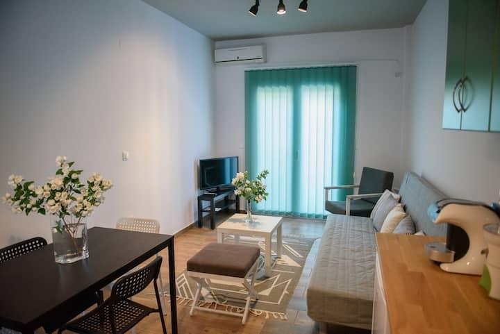 Meliti's apartment