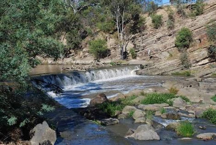 Dights Falls accessed along the Merri Creek Trail