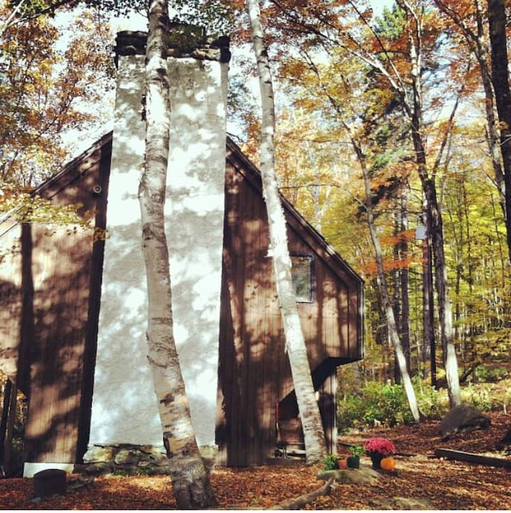 Vermont Dream Mountain Cabin.