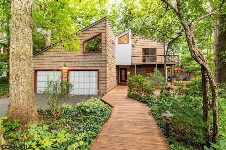 Contemporary Luxury House in Quiet Neighborhood