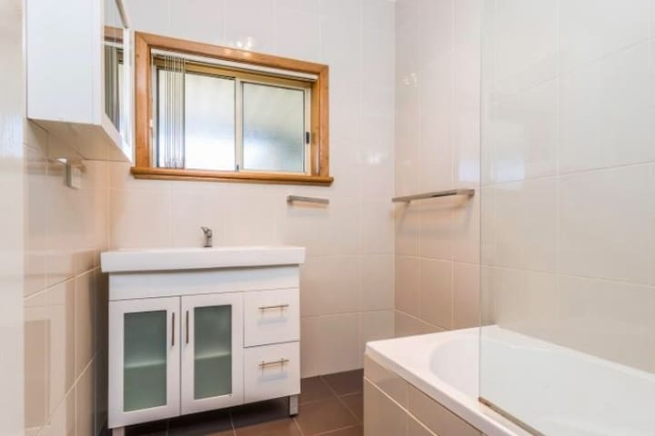 Bathroom - Gas hot water