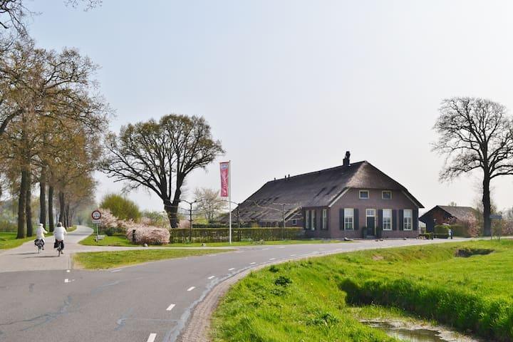 Kom het beleven! 'B&B De Veurdeale' - Havelte - Apto. en complejo residencial