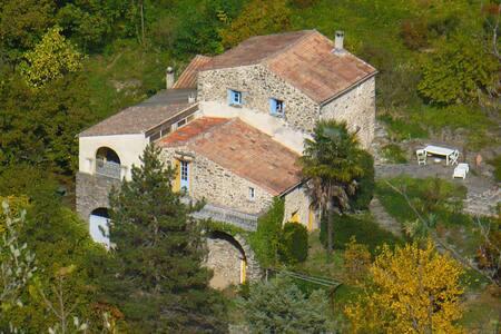 Mas ancien près de Saint Laurent le Minier - Saint-Laurent-le-Minier - Отпускное жилье