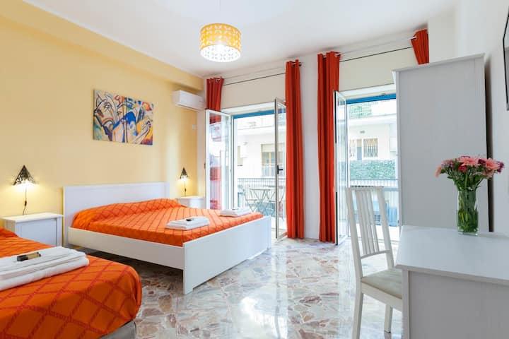 "B&B La Primula - ""Orange Room"""