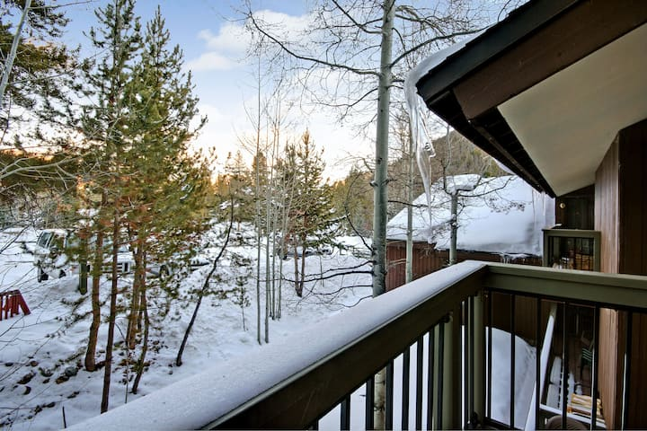 Wild Irishman 1043-Short shuttle ride to lifts, Private deck with views