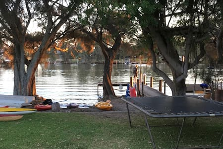 Holiday home Murray River. With Jetty/free wifi