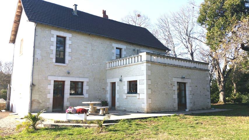 Très belle demeure de caractère - Futuroscope - Châtellerault - บ้าน
