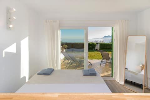 """""""Apartamento Garrover"""" tranquilo frente al mar."""