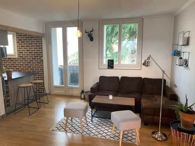 Appartement T2 - Juillet - Août / Au cœur du Mans